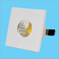 3W LED Button Square Light
