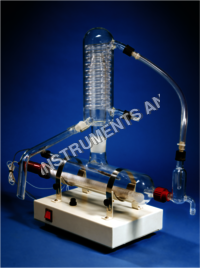 SINGLE STAGE QUARTZ DISTILLATION