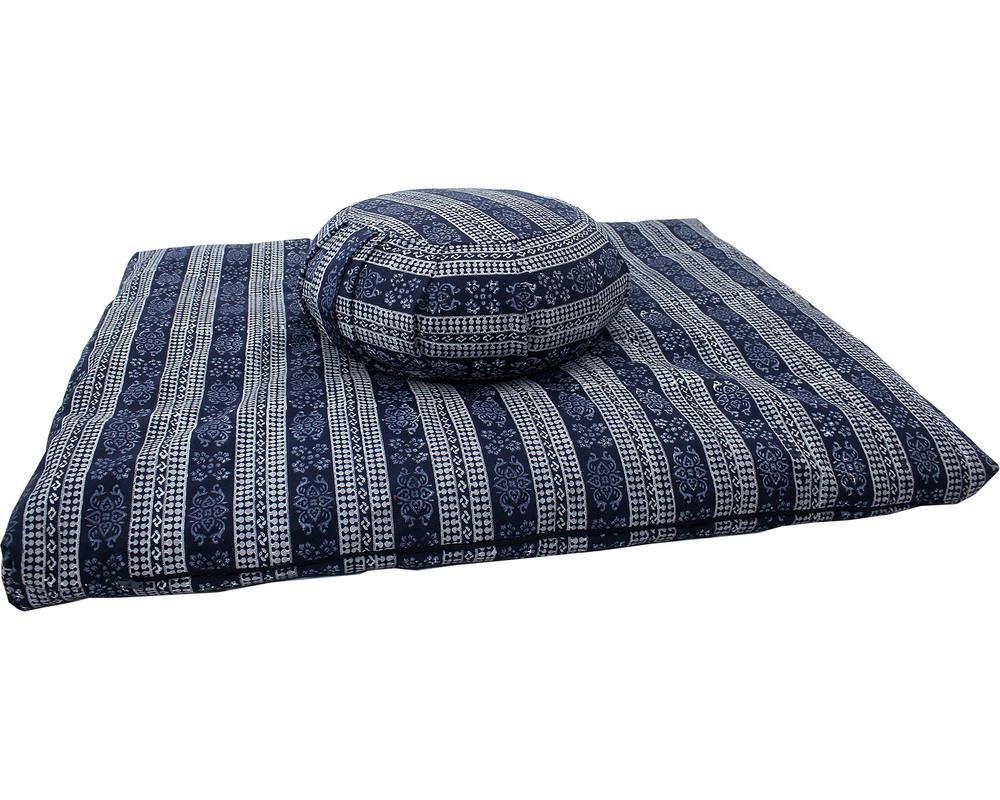 Meditation Cushion set- Block Print