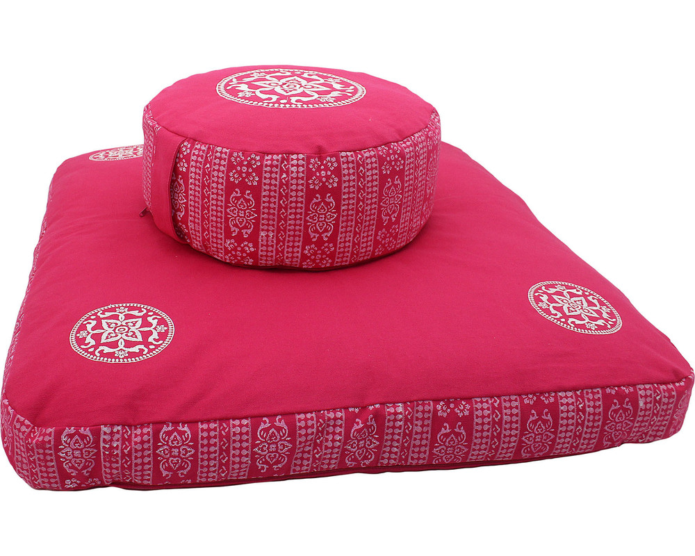 Embroidery Design Meditation Cushion Set