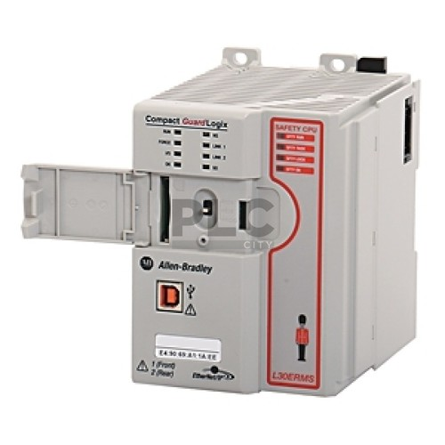 1769-L36ERMS CompactLogix 5370 L3 Controllers, Dual Ethernet w/DLR capability,30 I/O