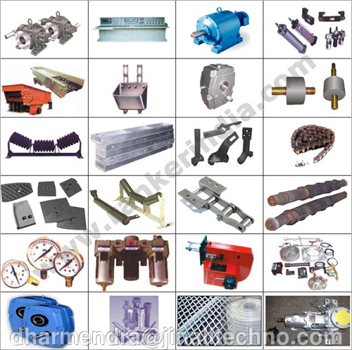 Spare Parts for Asphalt Batching Plant