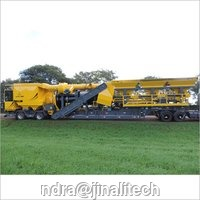 Counter Flow Mobile  Asphalt Drum Mix Plant