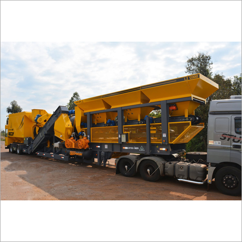 Continuous Mobile Asphalt Drum Mixing Plant