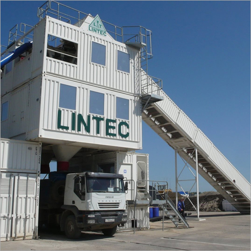 Containerized Concrete Batching Plant