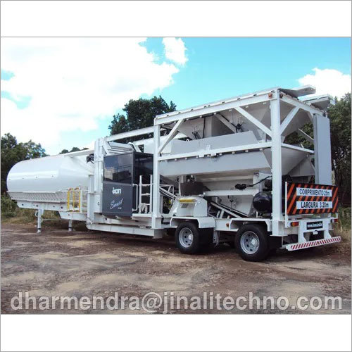 Ready Mix Mobile Concrete Batching Plant