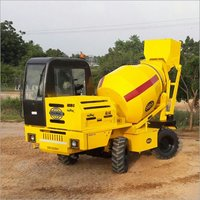 Mobile Self Loading Concrete Mixer