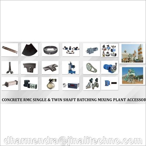Concrete Batching Plant Spare Parts