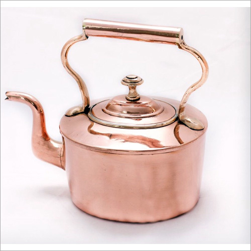 Polished Copper Kettle