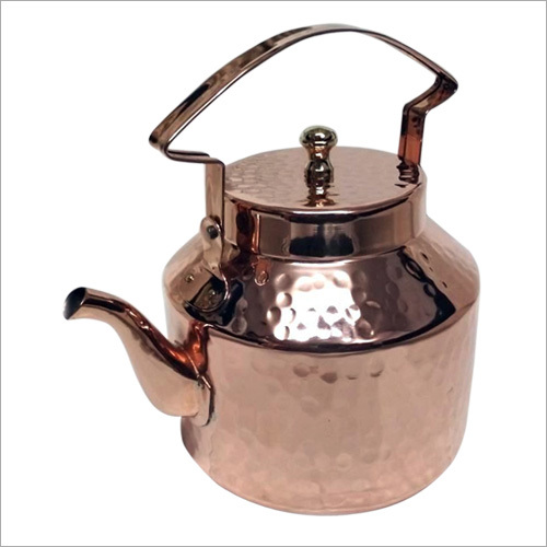 Hammered Copper Teapot