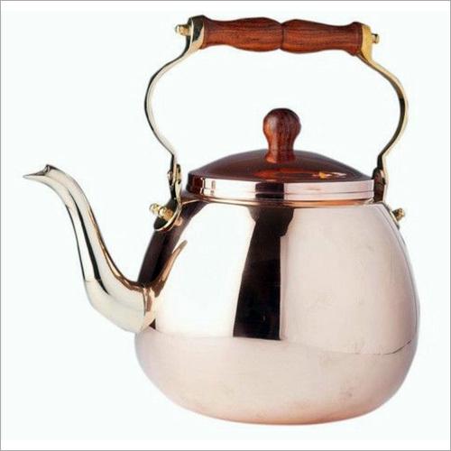 Polished Copper Teapot