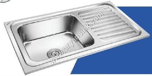 AISI-304 Single Bowl Single With Drain Board