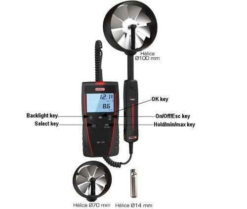 Van Probe Thermo Anemometer