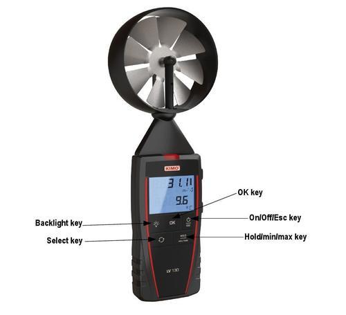 Vane Thermo Anemometer