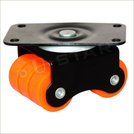 Bearing Revolving Four Wheel Caster