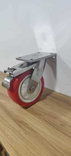 SS 304 Fabricated Trolley Wheels