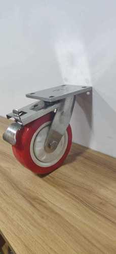 SS 304 Fabricated Trolley Wheels