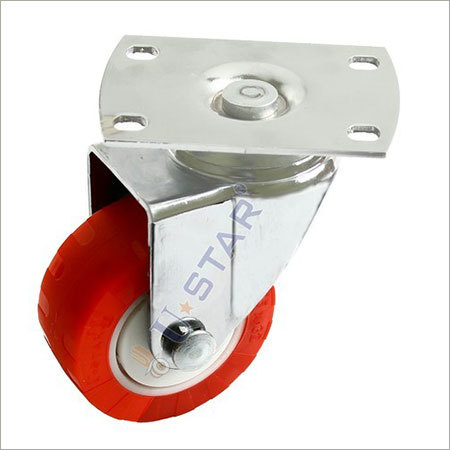 Heavy Duty Fix PU Caster Wheels