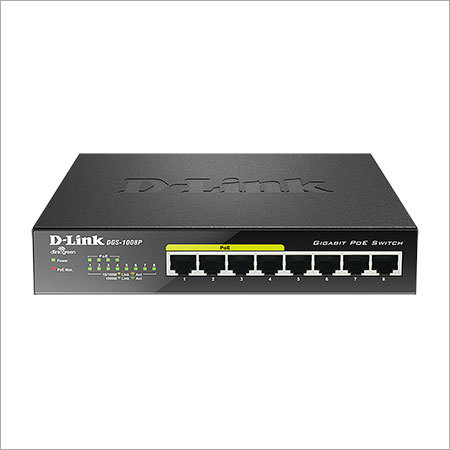 D-Link Un-Managed Switch DGS-1008P