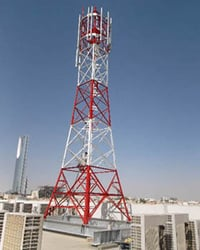 Rooftop Telecom Towers