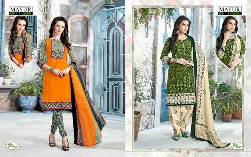 Long Salwar Suits Mayur Dress Material