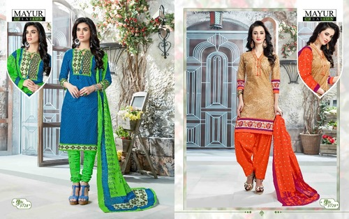 Mayur Khushi Vol 37 Cotton Printed Unstitched Dres