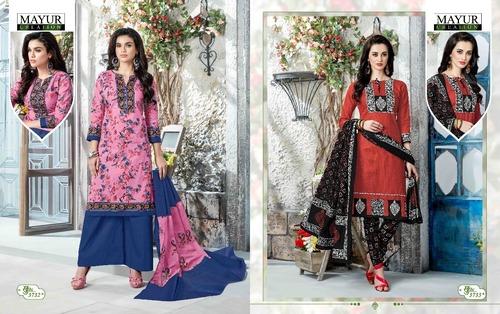 Mayur Cotton Printed Dress Material