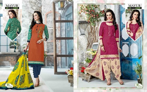 Printed mayur khushi vol37 collection