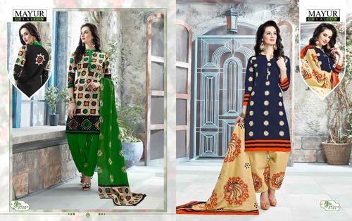 Pure Cotton Mayur Dress Material