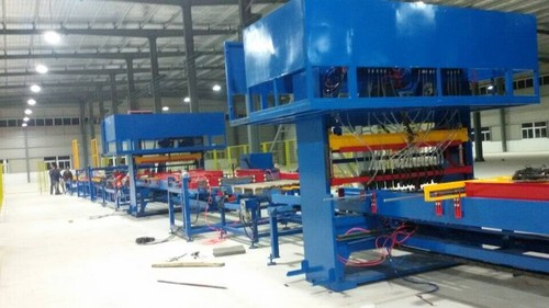 Fully Automatic Wood Pallet Nailing Line