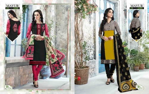 100% cotton Mayur khushi vol37 Dress Material