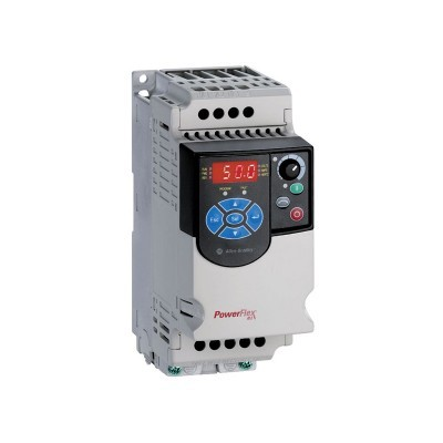 PowerFlex4M (22F-B1P6N103) AC Drive, 240 (208)VAC, 3PH, 1.6 Amps, 0.2 kW, 0.25 HP,