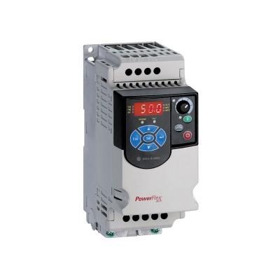 PowerFlex4M (22F-B2P5N103) AC Drive, 240 (208)VAC, 3PH, 2.5 Amps, 0.37 kW, 0.5 HP,