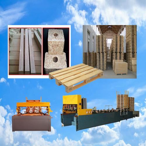 Block Pallet Nailing Equipment