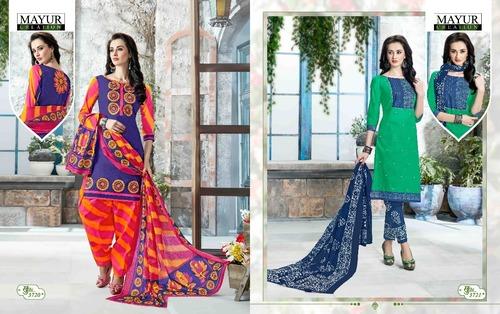 Mayur Khushi Printed Dress Materials