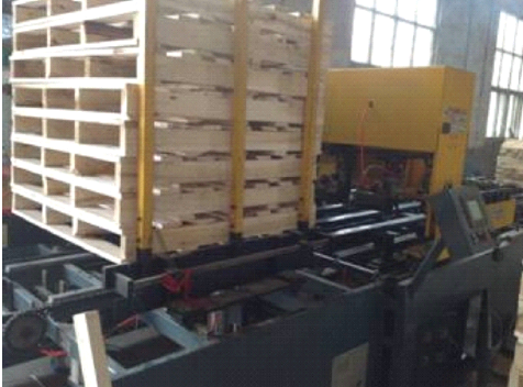 Hydraulic Wood Pallet Production Line