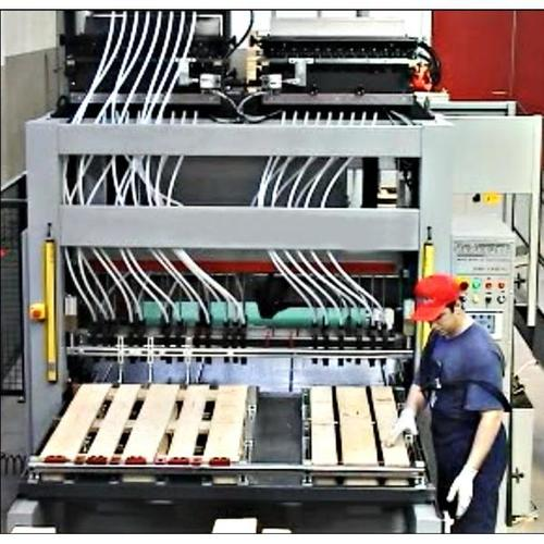 EPAL Wood Pallet Nailing Line