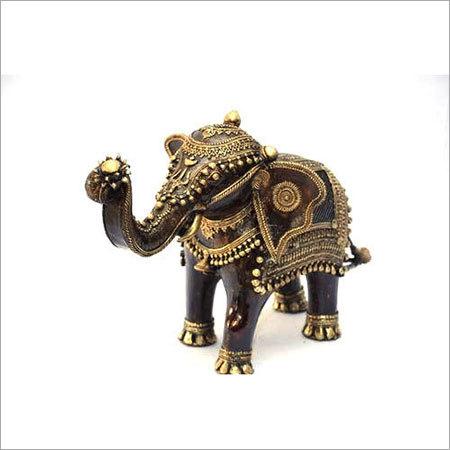 Brass Handicraft Elephant Statue