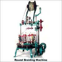 Round Type Rope Braiding Machine
