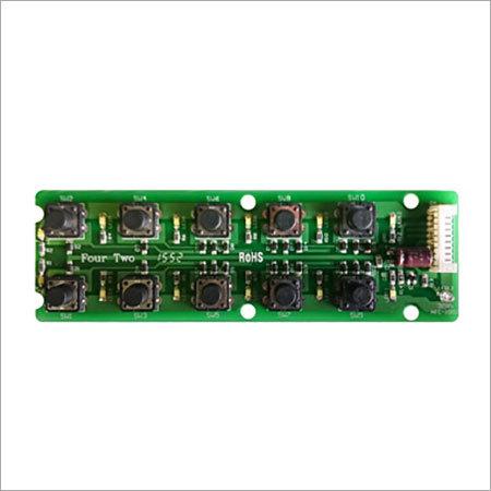 10 Button Hospital Bed Control Remote PCB