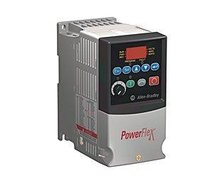 PowerFlex4 (22A-B2P3N104) AC Drive, 240 (208)VAC, 3PH, 2.3 Amps, 0.37 kW, 0.5 HP