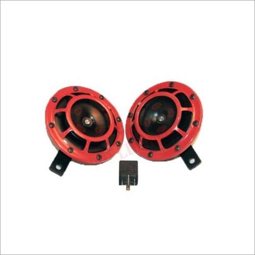 Suzuki Horn Set Dual Tone Genuine Hella 12V Red Grill + Relay Samurai SJ Gypsy