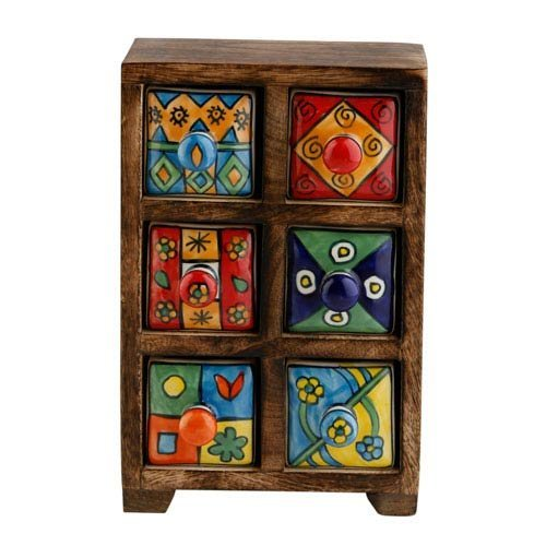 Ceramic 6 Drawers