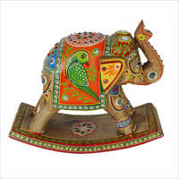 Decorative Painted Elephant