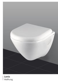 Lenis White Ceramic Water Closet