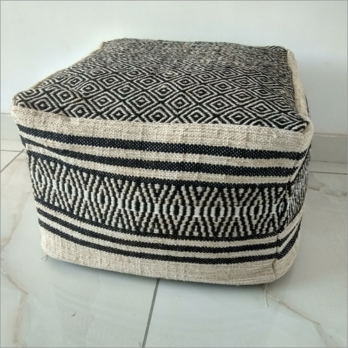 Knitted Floor Pouf
