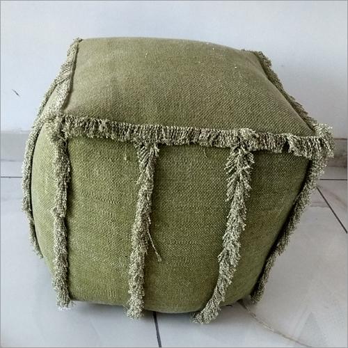 Wool Pouf