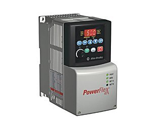 PowerFlex 40 (22B-A2P3C104) AC Drive, 240VAC, 1PH, 2.3 Amps, 0.37 kW, 0.5 HP