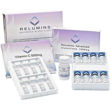 Relumins 1200mg Advance Glutathione with Booster