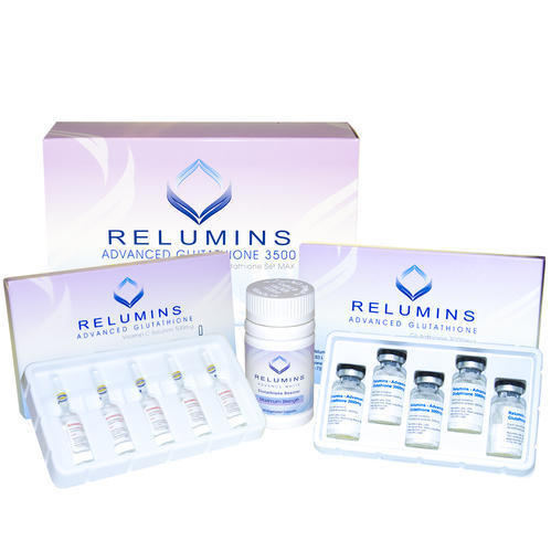 Advance Glutathione Relumins 3500mg With Booster